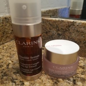 Clarins Bundle - Double Serum and Multi- Active Mo